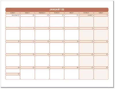Calendar Templates To Microsoft Office Dag Knig